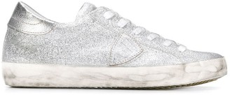 Philippe Model Paris Paris glitter sneakers