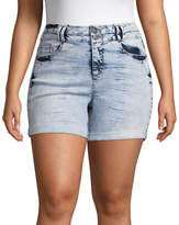 Blue Spice 5 Denim Shorts-Juniors