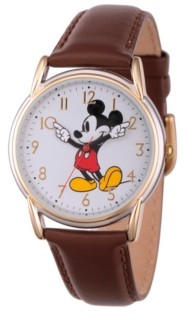 EWatchFactory Disney Mickey Mouse Women's Two Tone Cardiff Alloy Watch