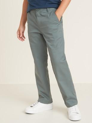 Old Navy Uniform Straight Built-In Flex Khakis for Boys