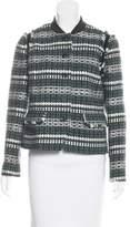 Tory Burch Patterned Embellished Jacket