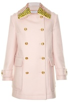Altuzarra Charles detachable-collar wool-blend coat