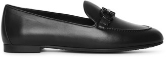 Salvatore Ferragamo Trifoglio gancino leather loafers