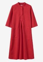Toast Cotton Twill Tunic Dress