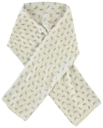 Barbour Dog Print Wrap Scarf