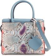 Kate Spade spencer snake embossed leather mini satchel