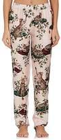 Dolce & Gabbana Women's Floral- & Cat-Print Silk Pajama Pants