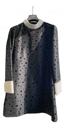 Shrimps Black Polyester Dresses