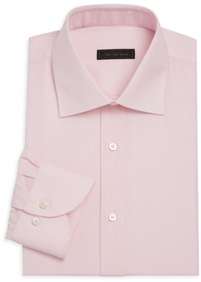 Saks Fifth Avenue COLLECTION Travel Micro Check Dress Shirt