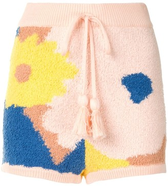 Alice McCall Sweet Talk knitted shorts