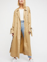 Free People Tied Up Trench
