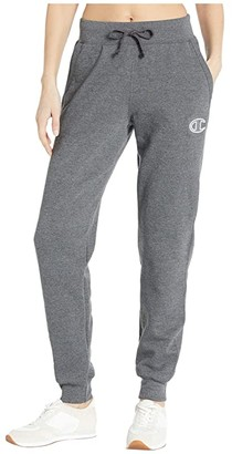 Champion Powerblend(r) Applique Joggers (Black) Women's Casual Pants