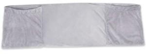 Leachco Sloucher Luxe Pillow Case, Gray Plush