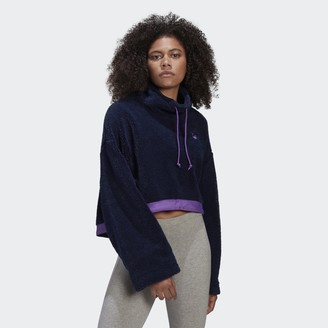 adidas Cropped Fleece Sweatshirt