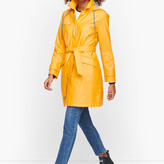 Talbots Long Hooded Trench Coat