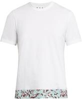 Marni Floral printed hemline T-shirt