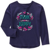 Gymboree Think Happy Tee