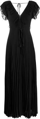 Twin-Set pleated long dress