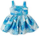 Halabaloo Toddler Girls) Floral Jacquard Dress