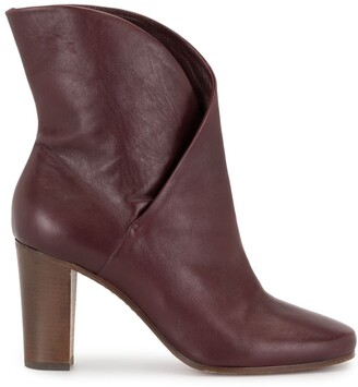 Céline Pre-Owned Crisscross Ankle Boots