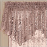 JCPenney JCP Home Collection HomeTM Shari Lace Rod-Pocket Ascot Valance