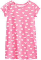 Joe Fresh Toddler Girls' Graphic Print Nightie, Pink (Size 2)