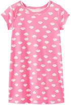Joe Fresh Toddler Girls' Graphic Print Nightie, Pink (Size 4)