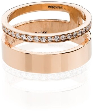 Repossi Berbere Module 18kt rose gold diamond ring