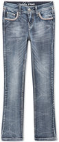 Revolution by Revolt Embroidered Flap Pocket Boot-Cut Jeans, Big Girls (7-16)