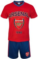Arsenal F.C. Arsenal FC Official Soccer Gift Mens Loungewear Short Pajamas