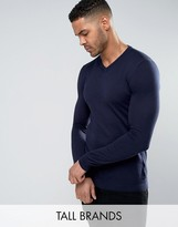 Ted Baker Tall V-neck Jumper