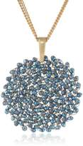 """Kenneth Cole New York Woven"""" Faceted Bead Pendant Necklace, 20"""""""