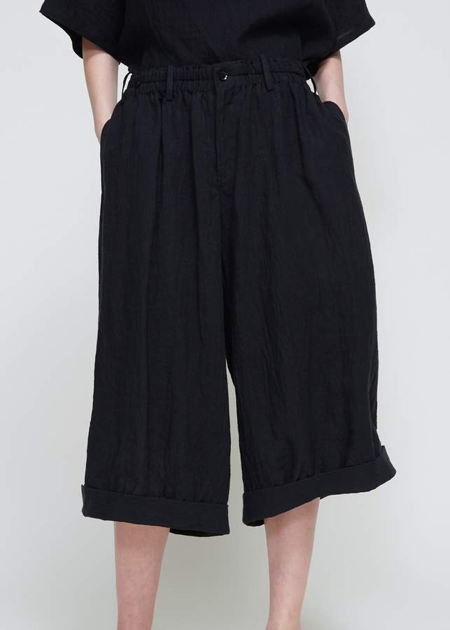 Yohji Yamamoto Wide Gathered Pants