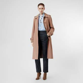 Burberry Tropical Gabardine Belted Car Coat