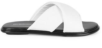 BCBGeneration Eloise Crossover Strap Slide Sandals