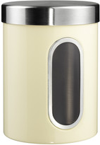 Wesco Kitchen Storage Canister with Window - Almond