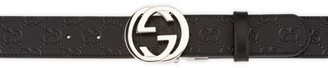 Gucci Reversible Interlocking G Leather Belt
