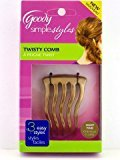 Goody Womens Simple Styles Trendy Twist Comb Light hair by
