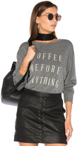 Daydreamer Coffee Before Anything Sweatshirt