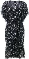 Dolce & Gabbana polka dot flounced dress - women - Silk/Cotton/Polyamide/Spandex/Elastane - 40