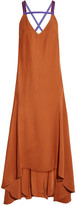 Roksanda Avalon Open-back Asymmetric Crepe Dress