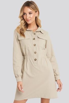 Trendyol Mini Buttoned Shirt Dress