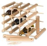 J.K. Adams 40-Bottle Wine Rack in Natural