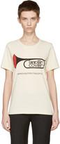 Undercover Ivory 'Trompette Improvisation Concepts' T-Shirt