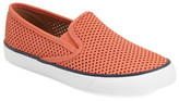 Sperry &Seaside& Perforated Slip-On Sneaker