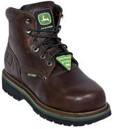 John Deere Men's Boots Safety Toe Lace-Up Flexible Internal Met Guard
