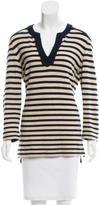 Tory Burch Cashmere Striped Sweater