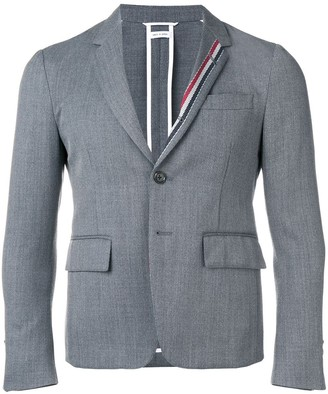 Thom Browne RWB Stripe Unconstructed Sport Coat