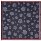 Kenzo Tiger jacquard modal-cotton scarf