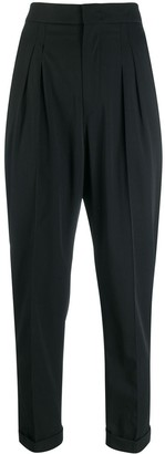 Isabel Marant High-Waist Pleated Trousers